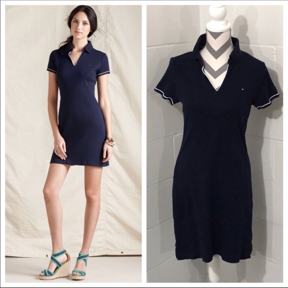 blue tommy hilfiger dress